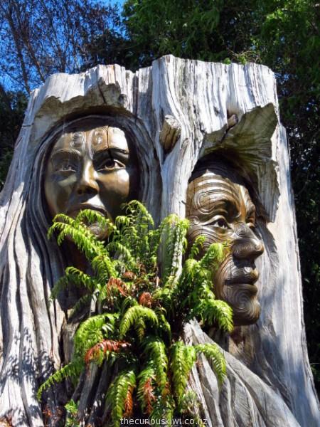 Papatuanuku & Ranginui by Ken Blum & Woody Woodward