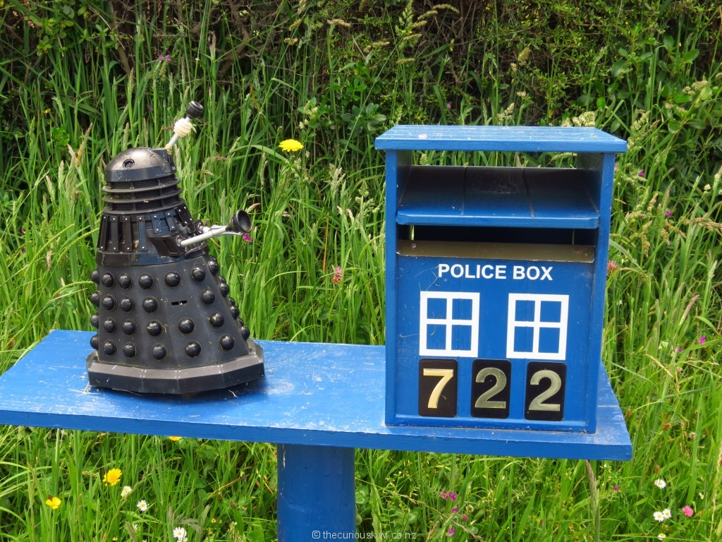 A Dalek and Tardis in Dunedin