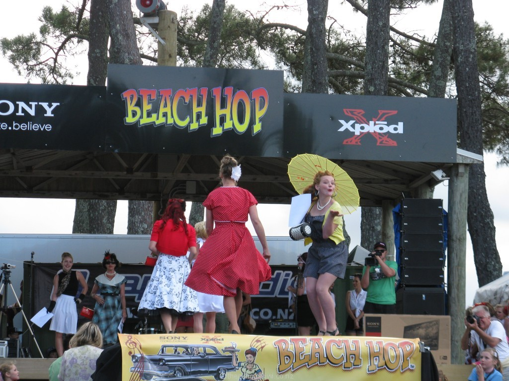 Beach Hop Retro Beauty Show