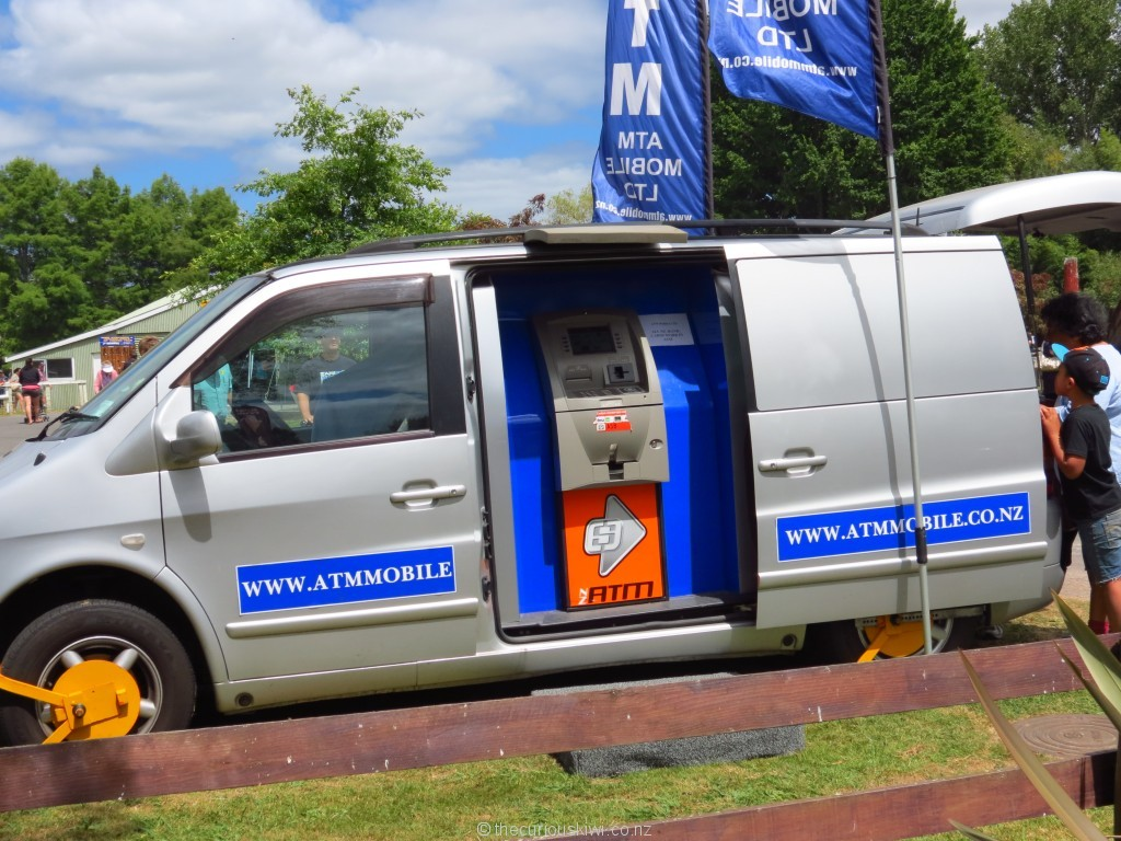 Locked and loaded - mobile ATM