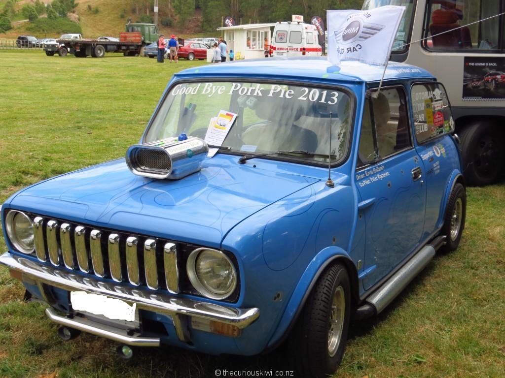 The hot rodded mini getaway car