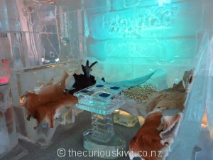 Take a seat at Below Zero Ice Bar in Queenstown