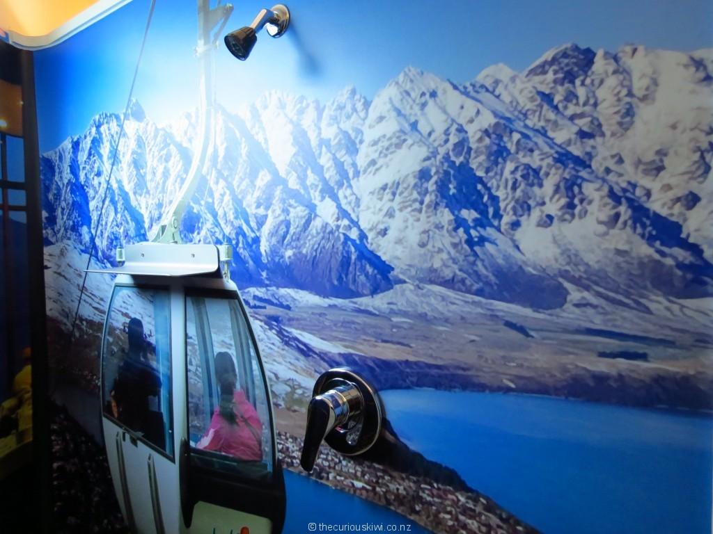 Skyline Gondola shower