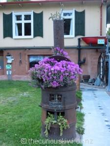 Unusual flower pots