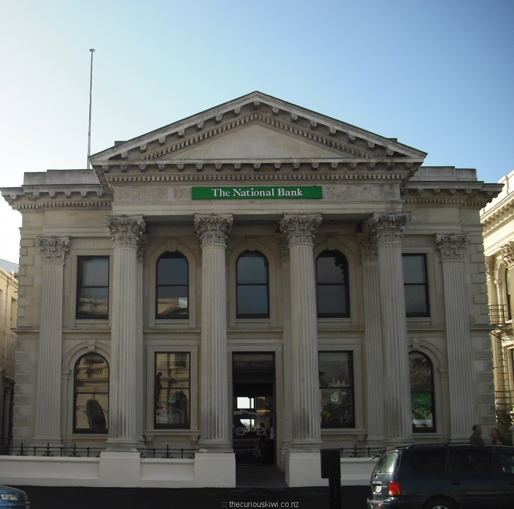 National Bank (now ANZ) onsite since 1873