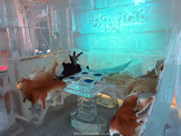 Below Zero Ice Bar in Queenstown