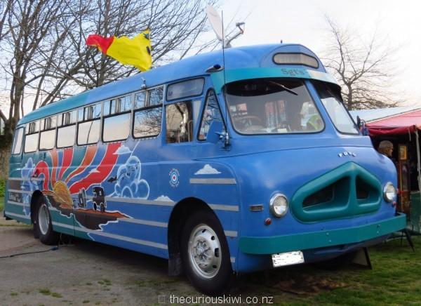 House bus seen at Rotorua Gypsy Fair