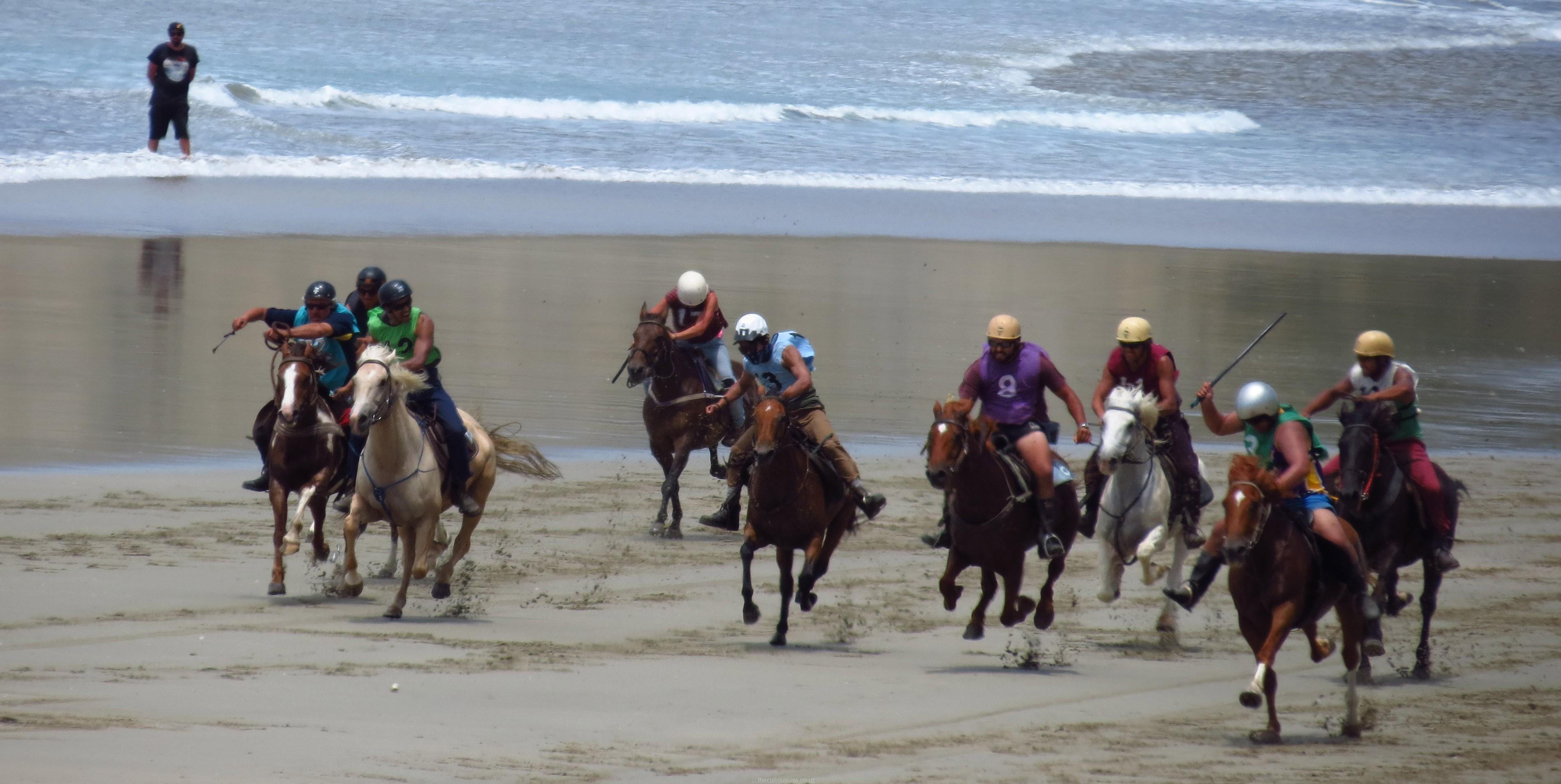 Kaiaua Beach Horse Races