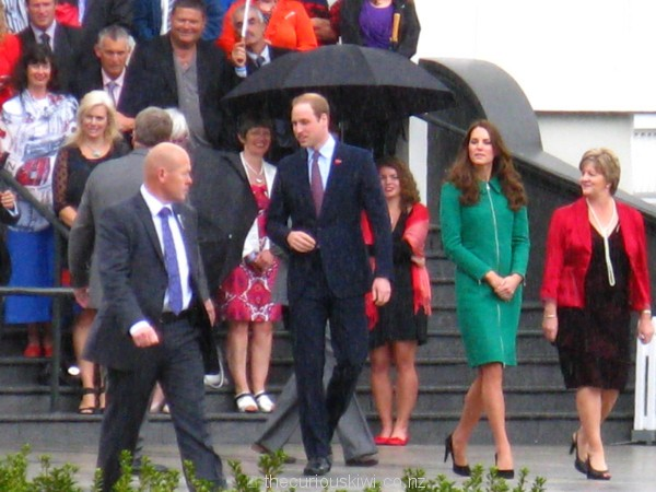 Smiles all round for the Duke & Duchess of Cambridge