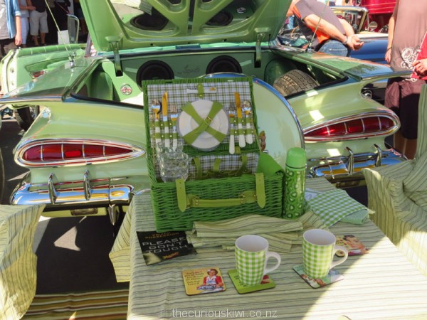 A picnic set to match the Impala