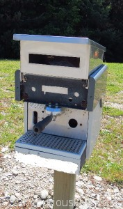 Coffee machine letter box near Queenstown