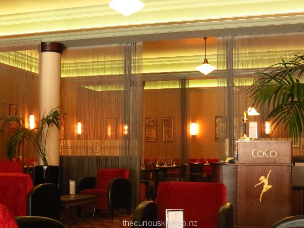 Head behind the curtain to CoCo Restaurant