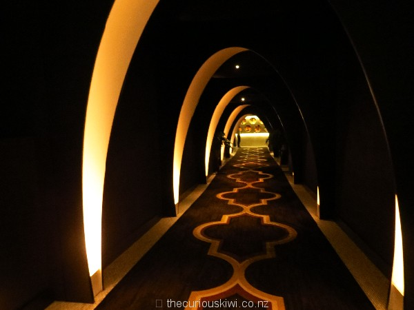 The futuristic tunnel to The Black Sparrow