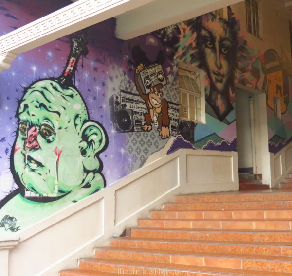 More art on the steps