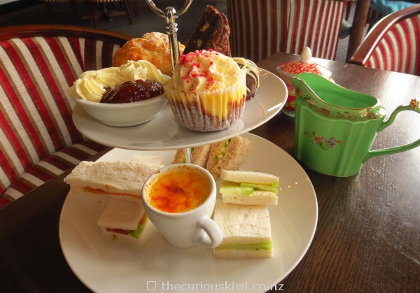 High tea for one at Chateau Tongariro