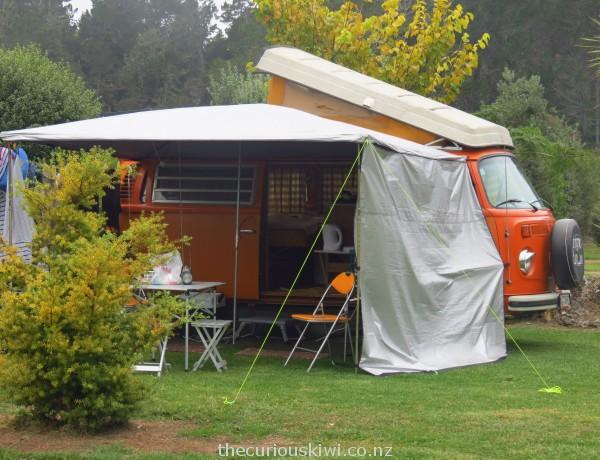 Kombi Camper at Hot Water Beach Top 10
