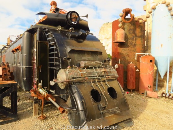Mad Max meets steampunk