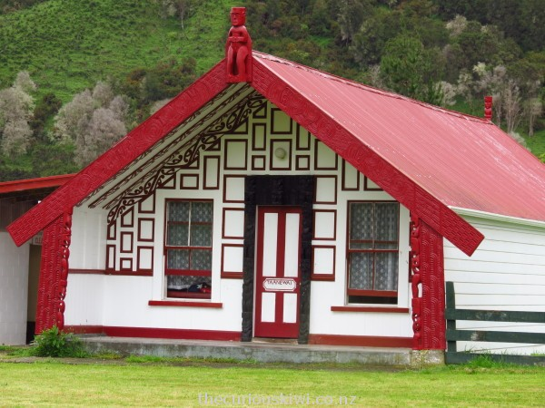 Taanewai meeting house on Matahiwi Marae