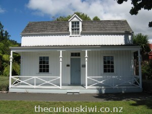 Wyllie Cottage - the oldest house in Gisborne
