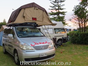 Camping at Waikanae Beach Holiday Park