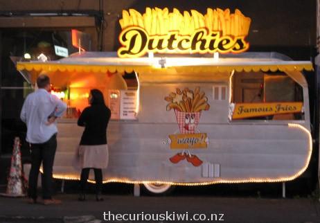 Dutchies, seen in Kingsland, Auckland