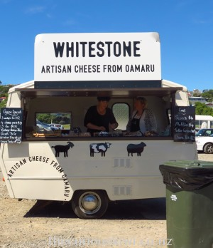 Whitestone Cheese at Oamaru Farmers Market