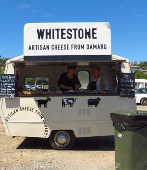Whitestone Cheese at Oamaru Farmers Market
