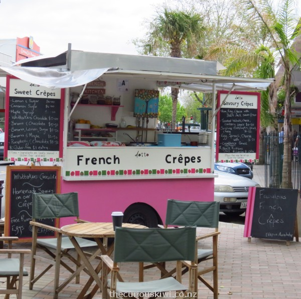 French crepes in Wanganui