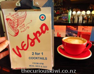 Vespa Bar, Christchurch