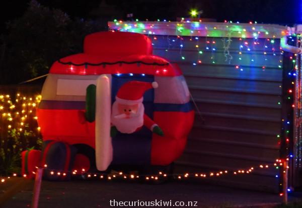 Caravan Christmas Cheer - 3 Bamber Street in Castlecliff