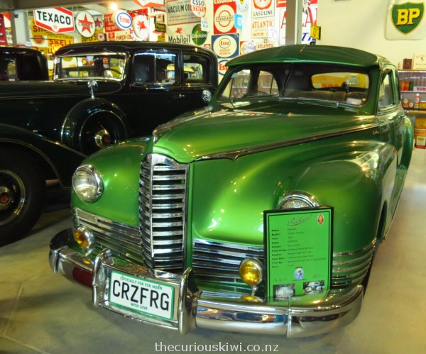1947 Packard painted Envy Green
