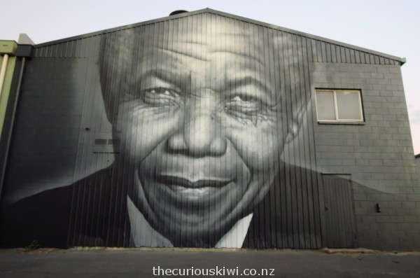 Nelson Mandela in Ashworth Lane