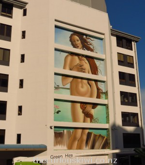 The Birth of Venus on Harington House