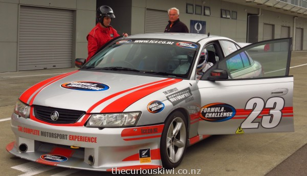 Mike & 'The Stig' - Taupo Motorsport Park