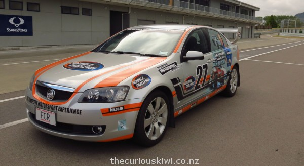 We did a fast lap in this 2007 V8 Holden