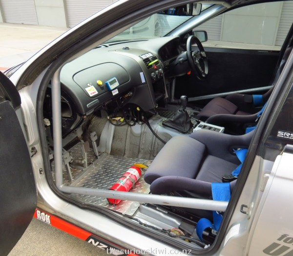 Interior of Holden V8 Racecar at Taupo Motorsport Park