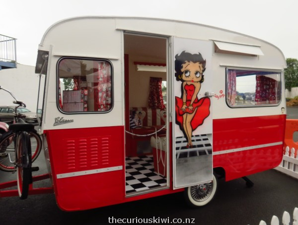 Betty Boop caravan