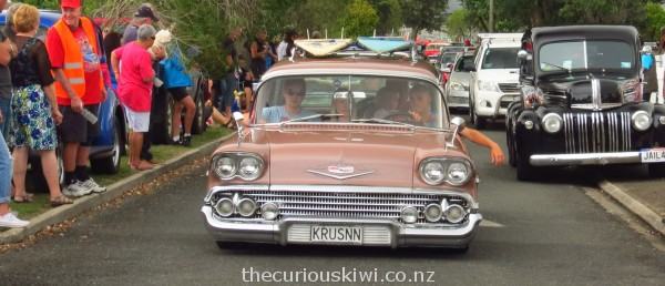 Krusnn in the Grand Parade