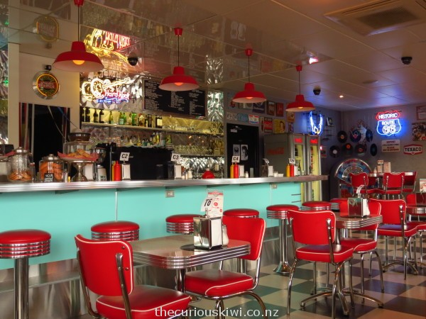 Deluxe Diner, New Plymouth