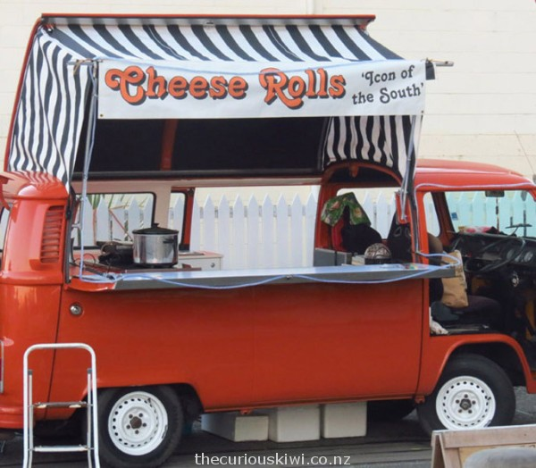 Cheese roll Kombi, seen in Oamaru