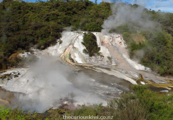 Emerald Terrace - at the beginning of the Orakei Korako walk