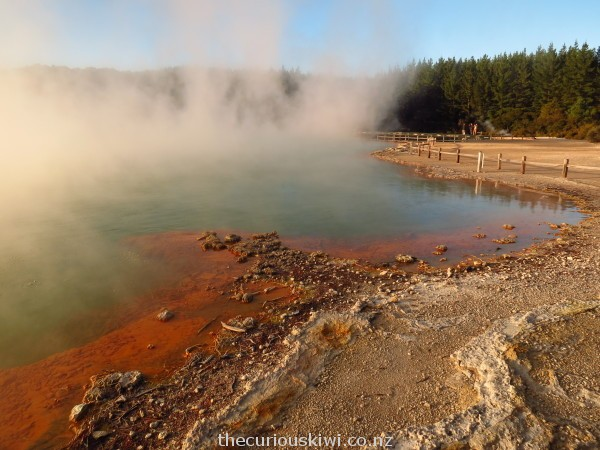 The Champagne Pool at Wai-O-Tapu Thermal Wonderland