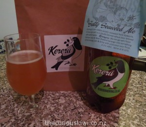 Salty Seaweed Ale by Kereru Brewing