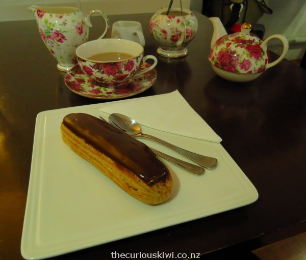 Best ever chocolate eclair at Louis Sergeant