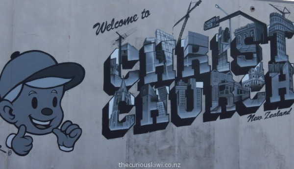 Welcome to Christchurch by Dcypher