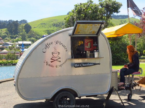 Coffee Pirates on Otago Peninsula