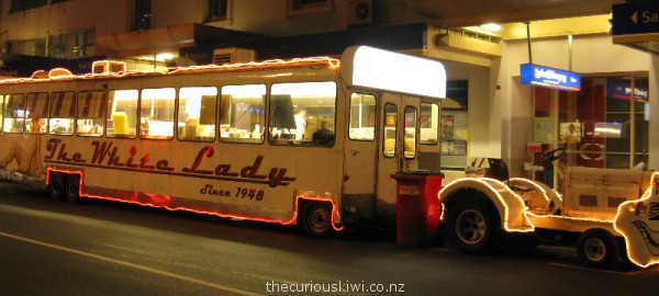 The White Lady on Commerce Street in Auckland