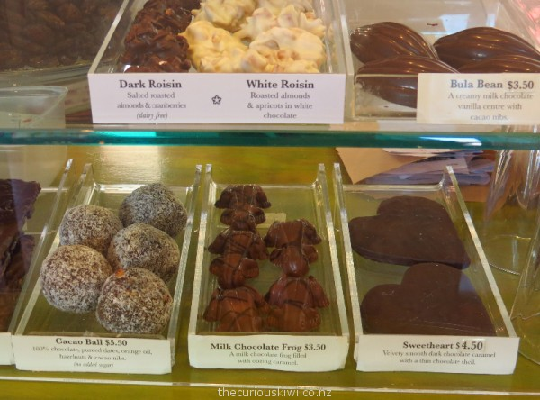 Chocolate treats at the Chocolate Counter