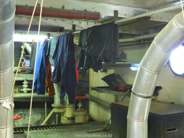 Coal powered clothes dryer