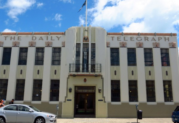 Daily Telegraph Building, 49 Tennyson Street